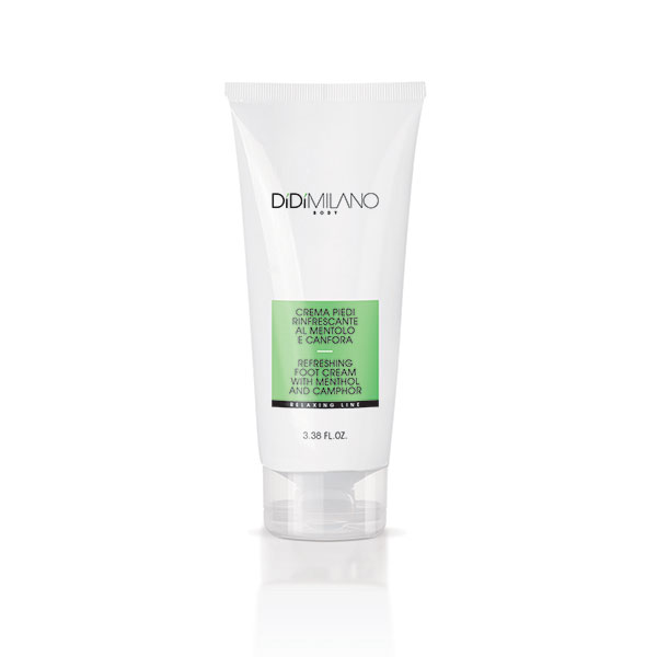 Refreshing foot cream with menthol and camphor - 100 ml