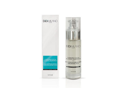 Eye contour serum with hyaluronic acid