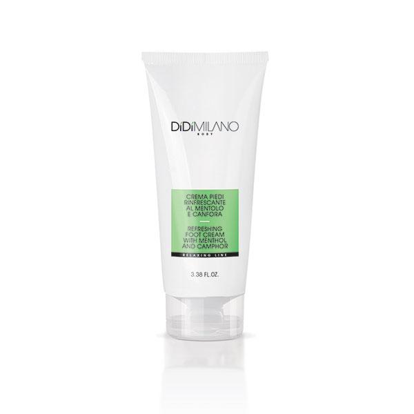 Crema piedi rinfrescante al mentolo e canfora - 100 ml
